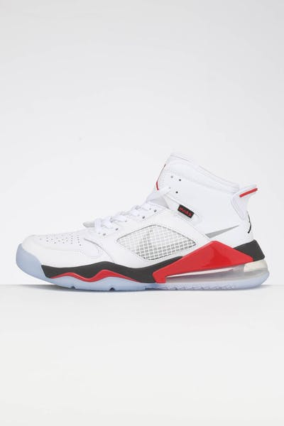 pretty nice a3860 e32ef Jordan Air Jordan Mars 270 WHITE REFLECT SILVER FIRE RED BLACK ...