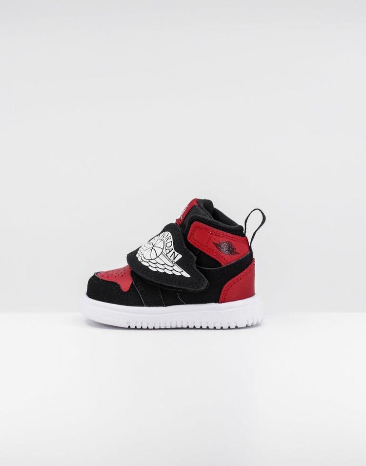 ce67e5f59 Jordan Toddler Sky Jordan 1 (TD) Black/White/Red