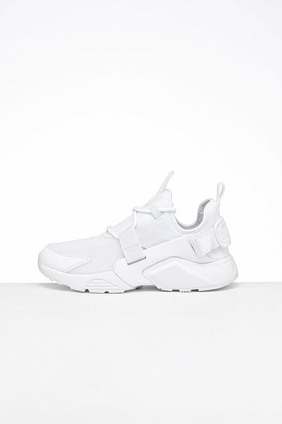 Nike Women's Air Huarache City Low White/White/White