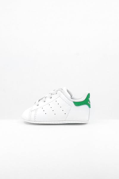 Adidas Toddler Stan Smith Crib White/White/Green