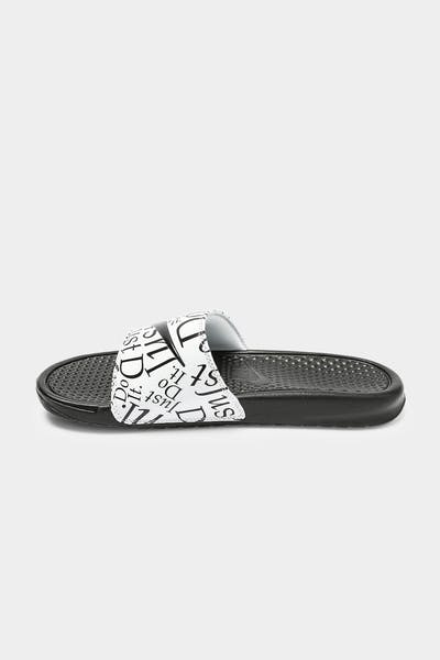 "Nike Benassi ""JUST DO IT"" Slide Black/Black/White"