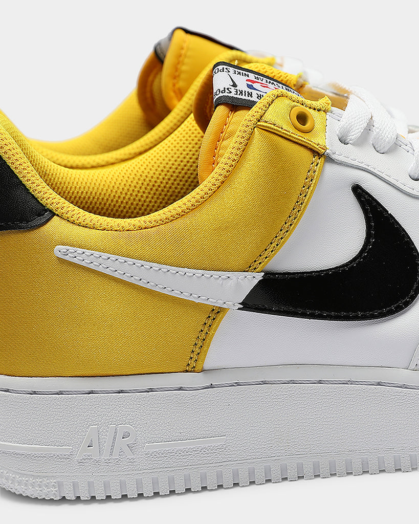 Nike Air Force 1 Low NBA Statement Game WhiteBlack Release