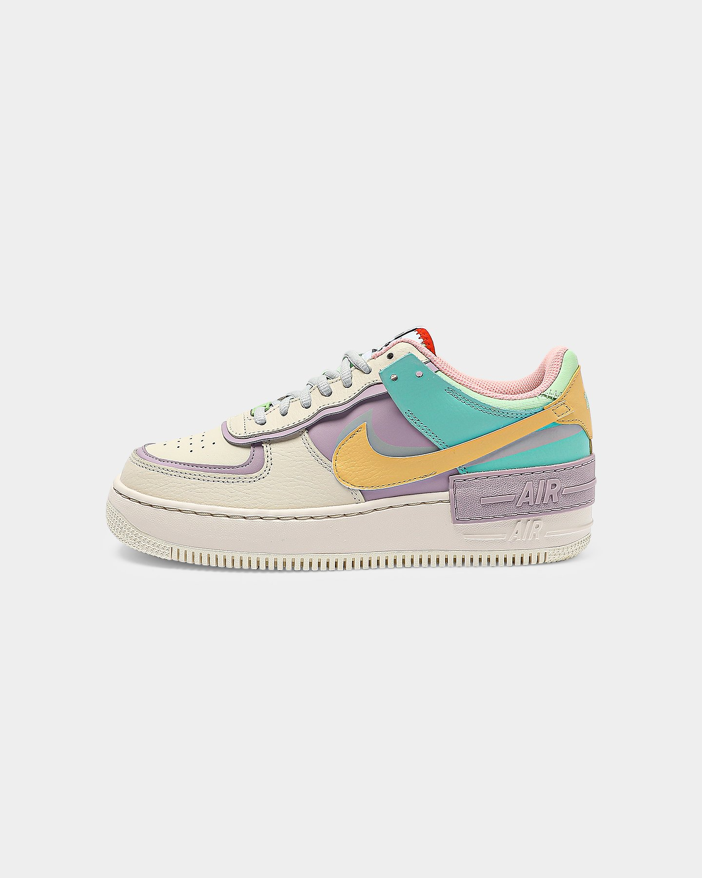 Nike Women's AF1 Shadow WhiteMulti Coloured