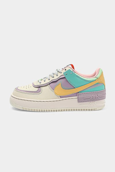 Nike Women's AF1 Shadow White/Multi-Coloured