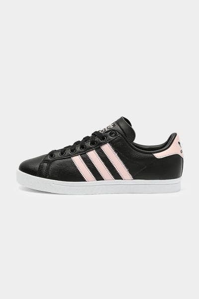 Adidas Women's Coast Star Black/Pink/White