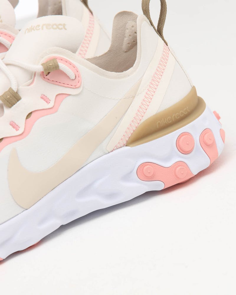 Nike Women's React Element 55 Phantom/Beige