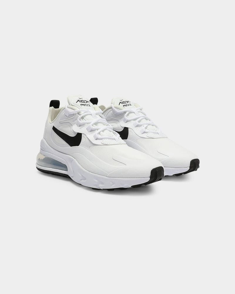 Nike Women's Air Max 270 React White/Black/Silver