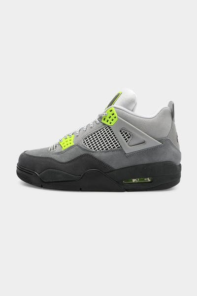 Jordan Men's Air Jordan Retro 4 Retro LE Grey/Antharacite