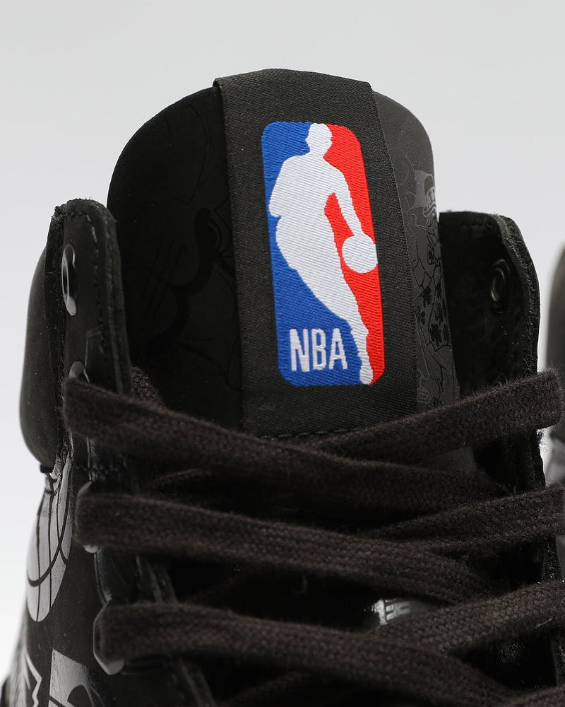Timberland Mens NBA X Timberland East Vs. West 6-Inch Boots Black
