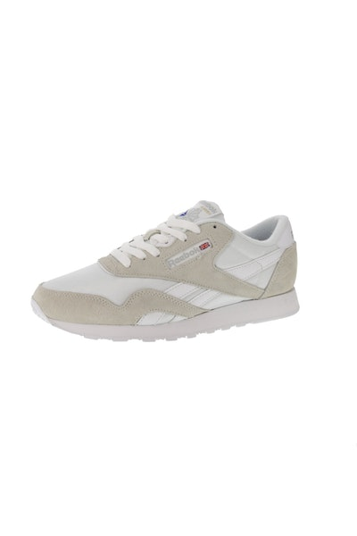 Reebok CL Nylon White/Light Grey