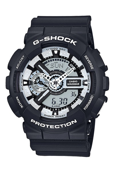 Ga110bw-1a G-shock Duo Black/white