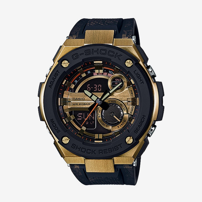 Gst200cp - G Steel Black/gold