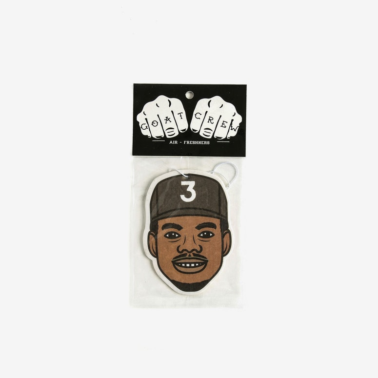 Goat Crew Chano Mini Head Air Freshener Multi-coloured (Citrus Scent)