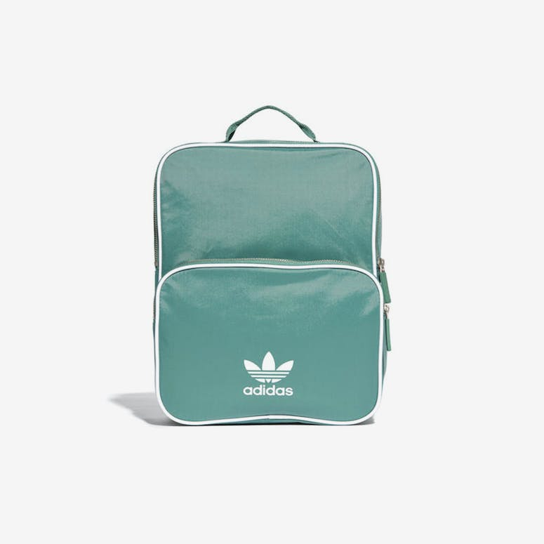 40d6459007 Adidas BP Classic Medium Backpack Green White – Culture Kings