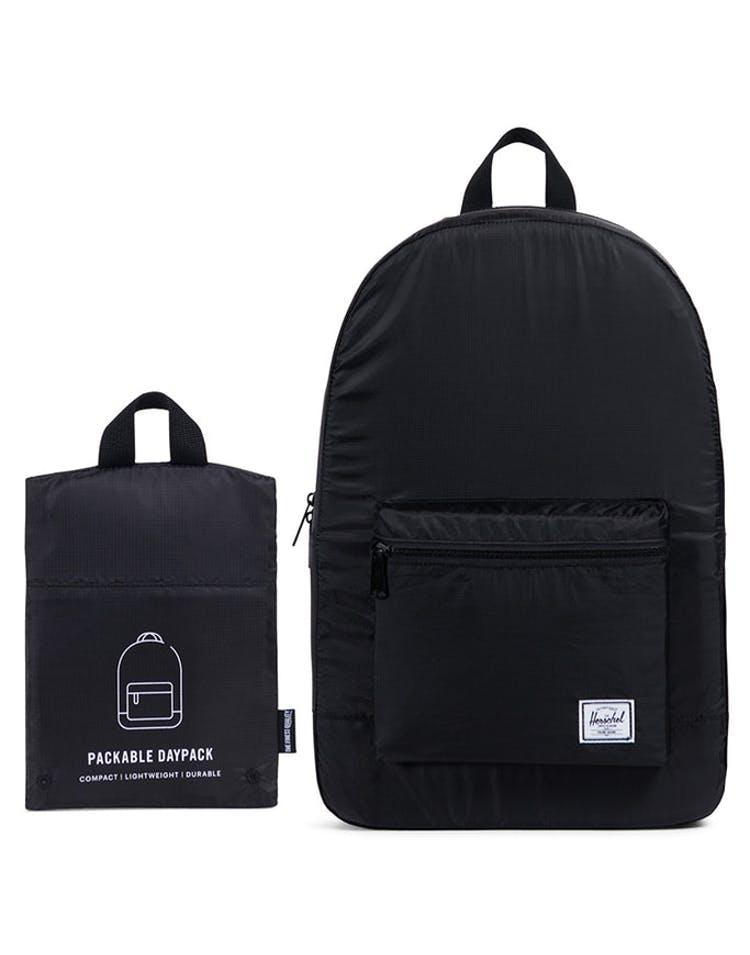 szerokie odmiany Hurt przybywa Herschel Supply Co Packable Daypack Black