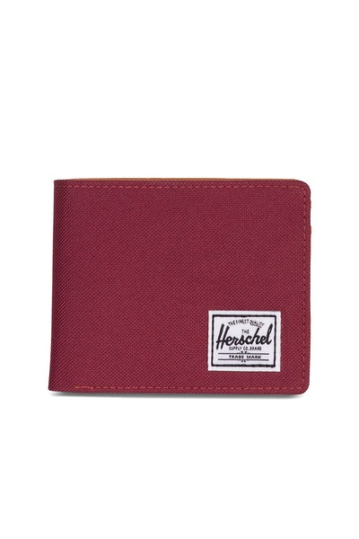 HERSCHEL SUPPLY CO HANK & COIN RFID WALLET LIGHT WINE