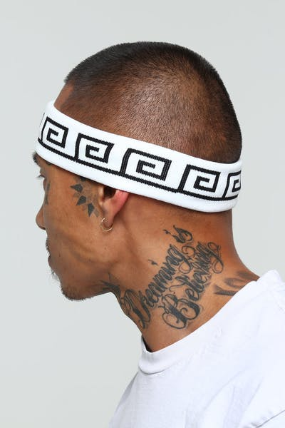 Last Kings Scribe Headband White/Black