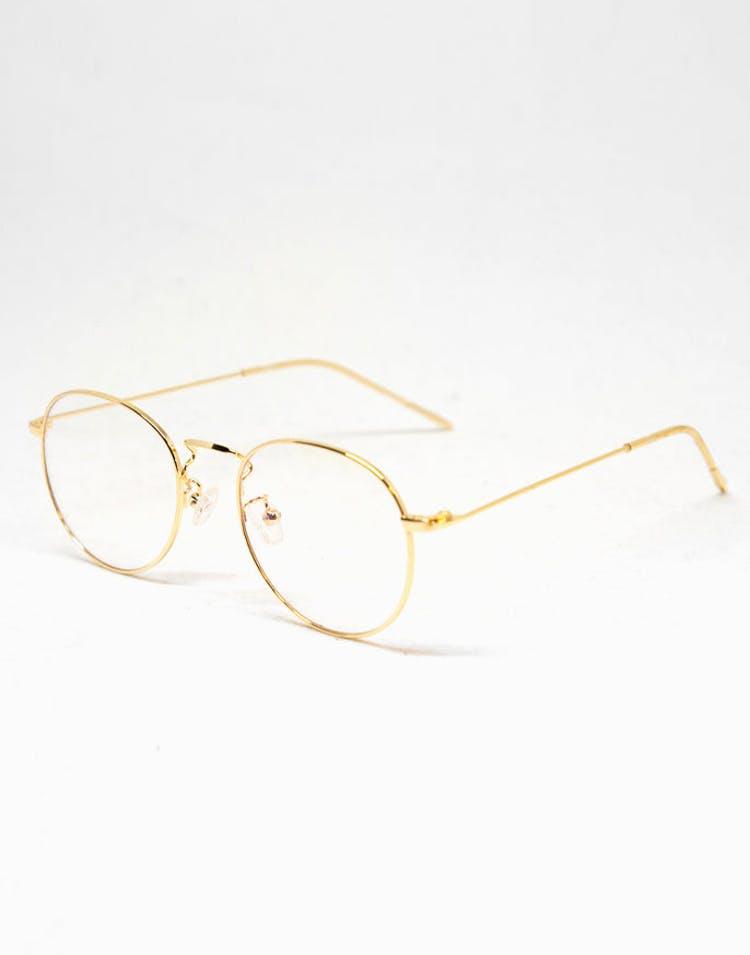 dda5c8d066 New Slaves Clear Glasses Gold – Culture Kings