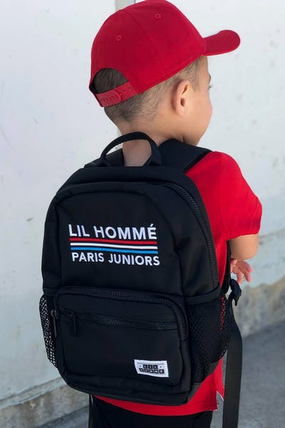 Lil Hommé Onyx Backpack Black