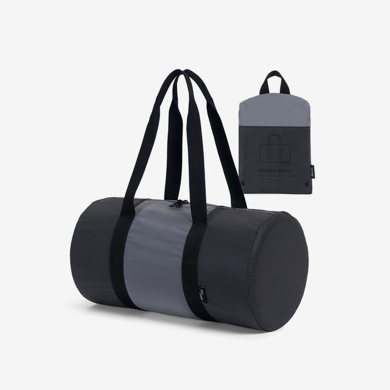 750d5e5f25 Herschel Supply Co Packable Duffle Black Silver – Culture Kings