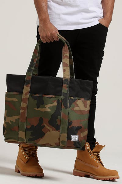 HERSCHEL BAG CO TERRACE TOTE Woodland Camo/Black