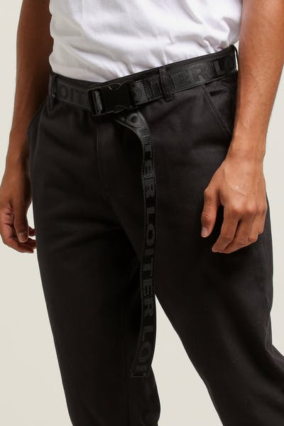 Loiter NYC Reversible Industrial Belt Black