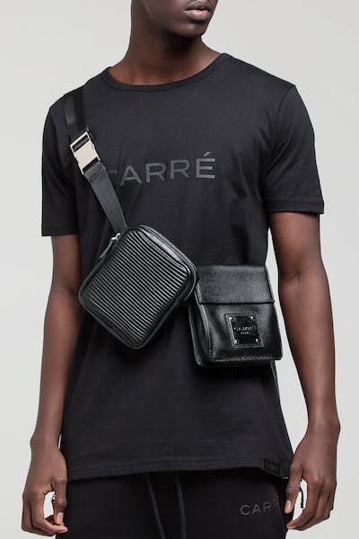 Carré Noir Belt Bag Black