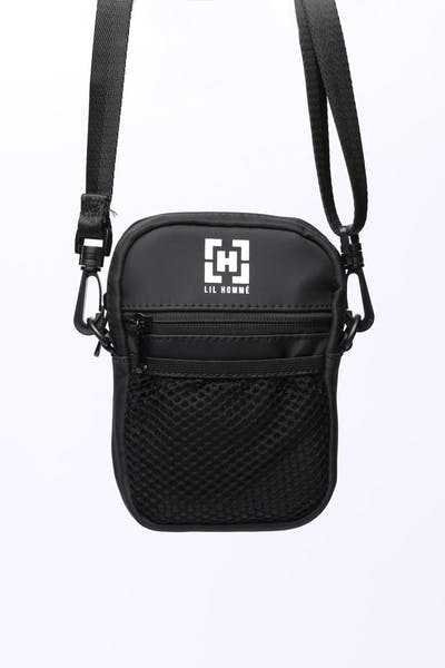 Lil Hommé Cube Side Bag Black