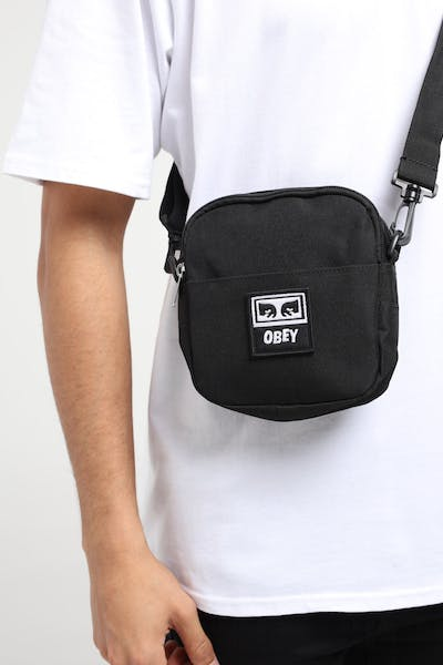 Obey Drop Out Travellers Bag Black