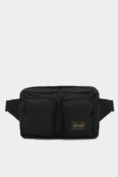 Stussy Workwear Utility Bag Black