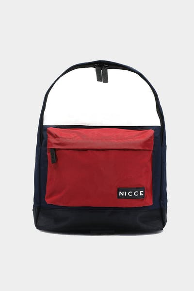 Nicce Kora Backpack Navy/Red/White