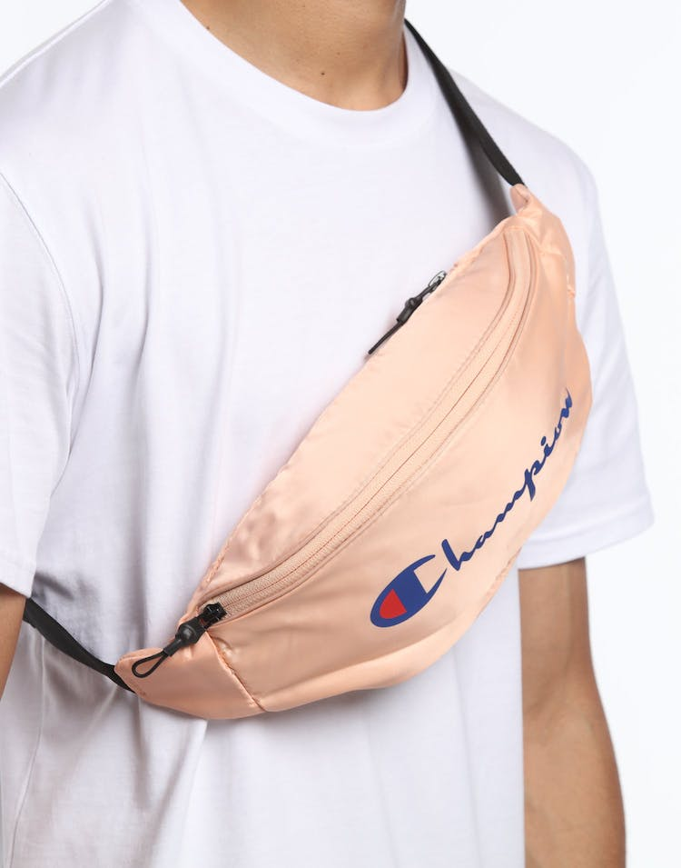 Champion Script Waist Pack Peach