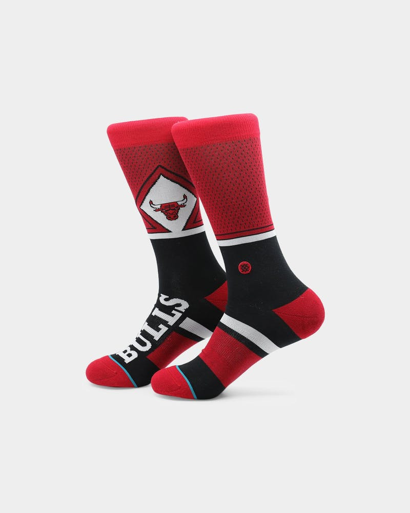 Stance Chicago Bulls Shortcut Socks Red
