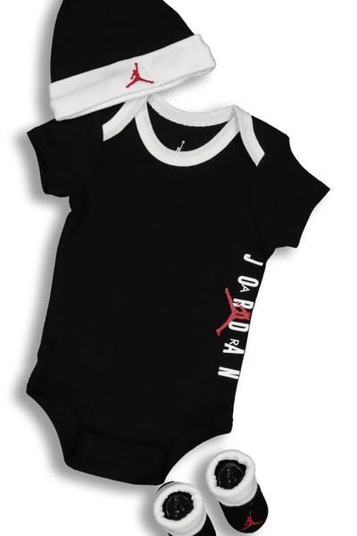 960ccb8ee Nike Infant Jordan 3PC Set Black