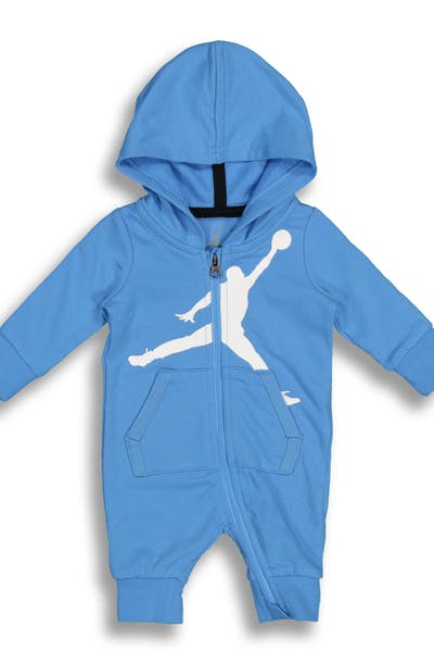 Nike Jordan Brand Jumpman Hooded Coverall Blue/White