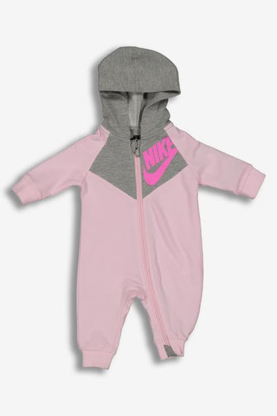 Nike Infant NKB NSW Chevron Coverall Pink