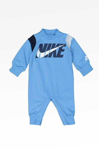 Nike Kids Colour Blocked Coverall University Blue