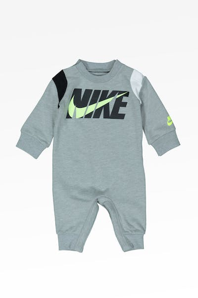 Nike Kids Colour Blocked Coverall Dark Grey Heather