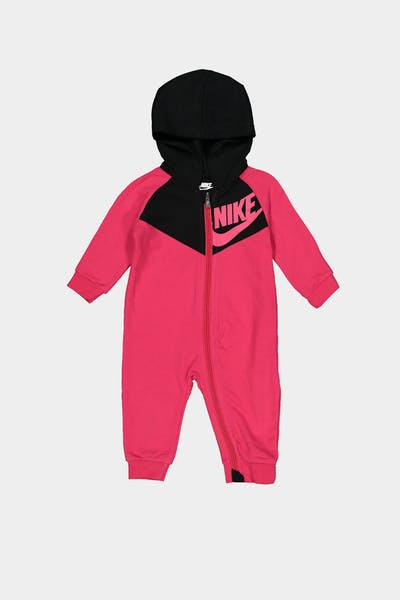 Nike Infant NKB NSW Chevron Coverall Rush Pink