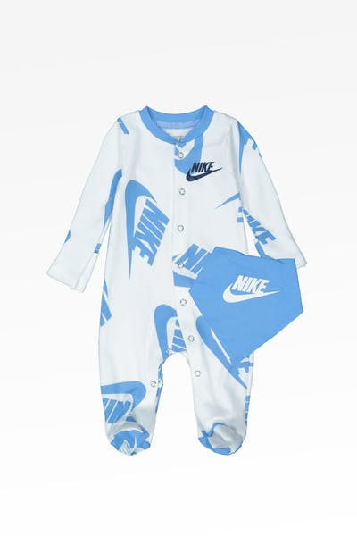 Nike Kids NSW Footed Coverall And Bib University Blue