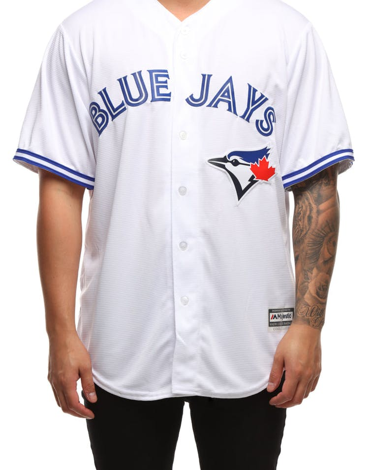 6e7ed121d4d Majestic Athletic Toronto Blue Jays Cool Base Jersey White – Culture Kings