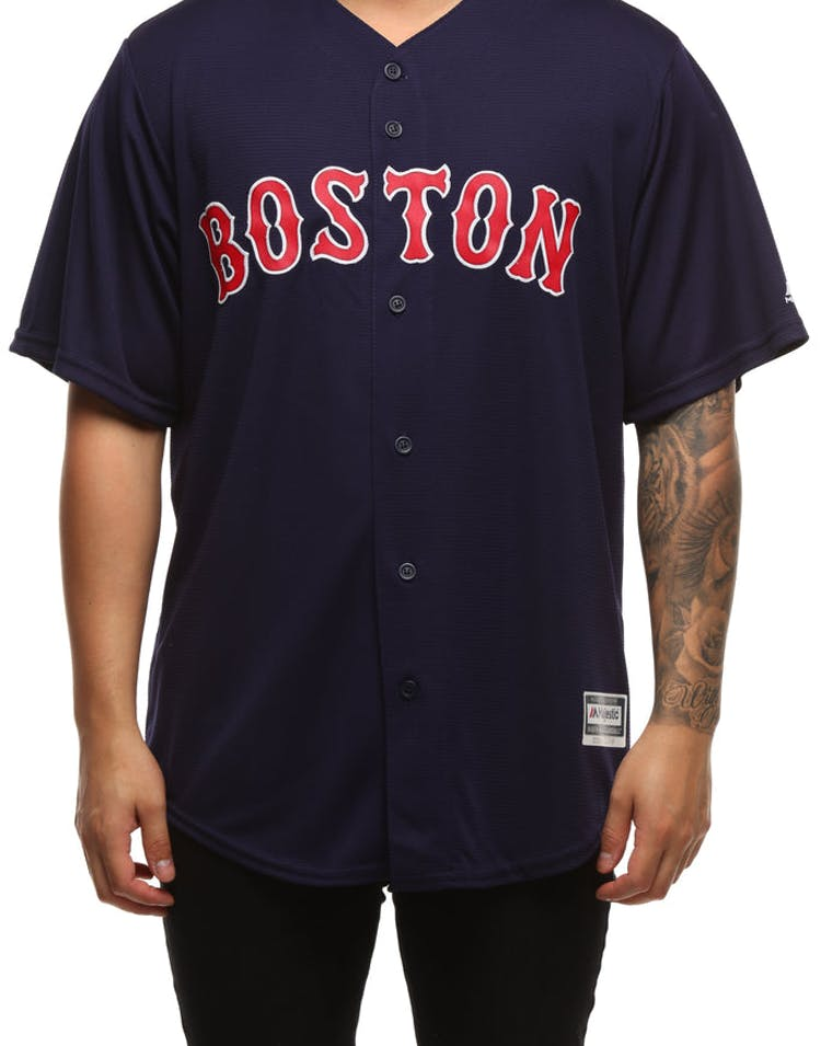 online store 261bd 058e8 Majestic Athletic Boston Red Sox Cool Base Jersey Navy