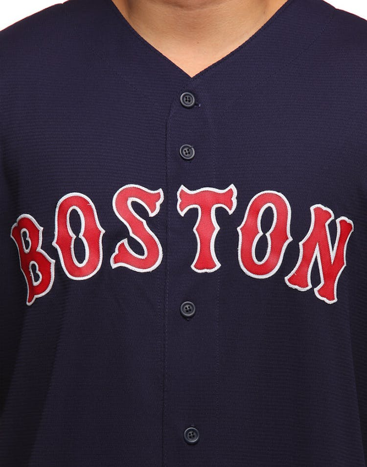 online store 0e596 cbb5b Majestic Athletic Boston Red Sox Cool Base Jersey Navy