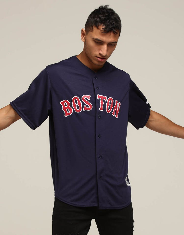 bd17efeff Majestic Athletic Boston Red Sox Cool Base Jersey Navy – Culture Kings