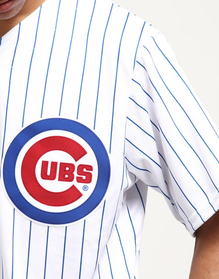 338dab4b390 Majestic Athletic Chicago Cubs Home Cool Base Jersey White Royal ...