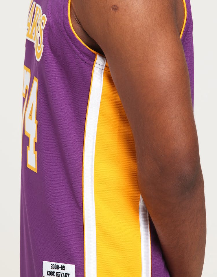 0c92e4f7 Mitchell & Ness Los Angeles Lakers Kobe Bryant #24 Authentic NBA Jersey  Purple