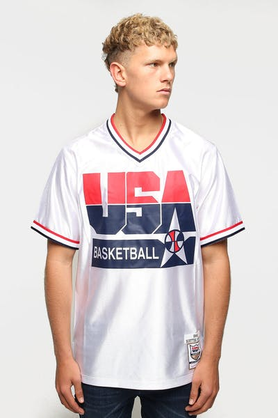 Mitchell & Ness USA '92 Dream Team Scottie Pippen Shooting Shirt White