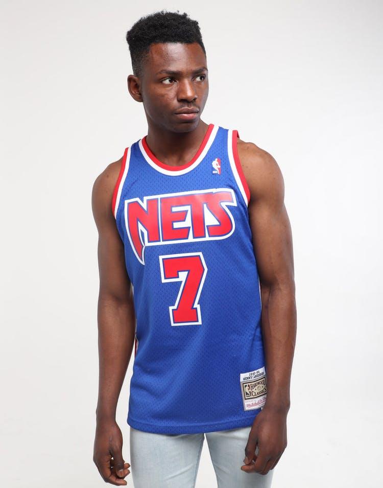 online retailer 98270 7b507 Mitchell & Ness New Jersey Nets Kenny Anderson #7 Swingman Jersey Royal