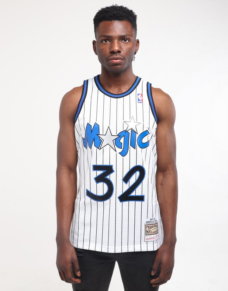 new arrival f7a02 d81c6 Mitchell & Ness Orlando Magic Shaquille O'Neal #32 Swingman Jersey White