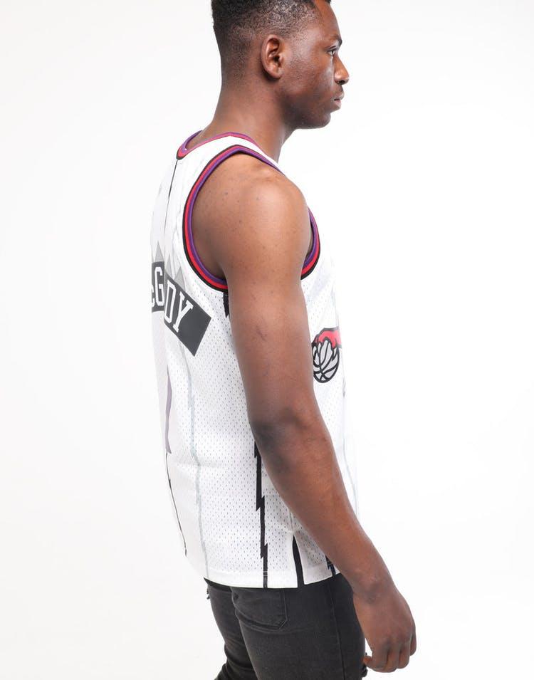 quality design 1a522 1b292 Mitchell & Ness Toronto Raptors Tracy McGrady #1 Swingman Jersey White